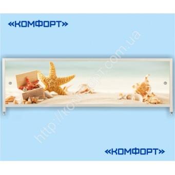 Экран для ванной раздвижной