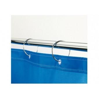 Карниз прямой для ванной комнаты 150 см